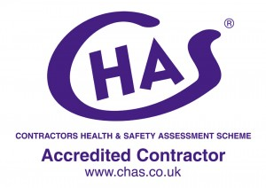 CHAS logo - Accredited Contractor
